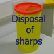 Logo for Disposal of Sharps